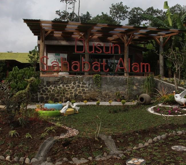 Taman baru Dusun Sahabat Alam